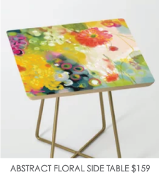 ABSTRACT-FLORAL-SIDE-TABLE