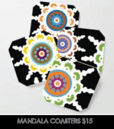 MANDALA-COASTERS