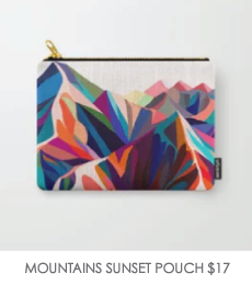 MOUNTAINS-POUCH