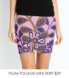 PLUM-FOLIAGE-SKIRT